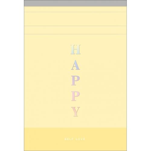 BLOCO DE ANOTACOES TILIBRA HAPPY M 80FLS