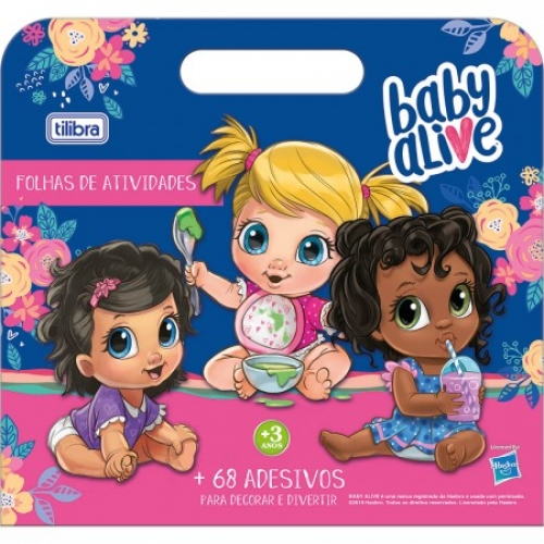 MALETA DE ATIVIDADES TILIBRA BABY ALIVE 8FLS