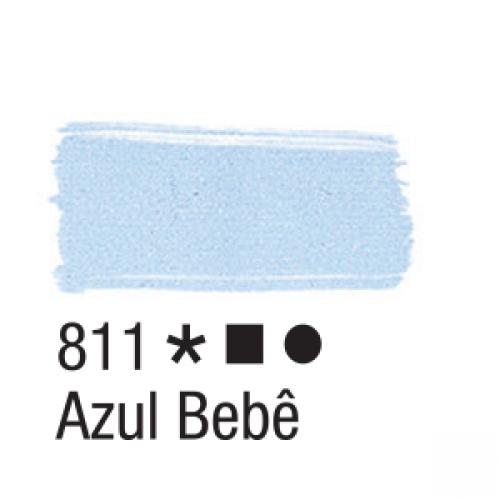 TINTA TECIDO ACRILEX 37ML AZUL BEBE