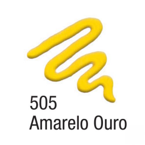 TINTA TECIDO ACRILEX ACRIPUFF 35ML AMARELO OURO