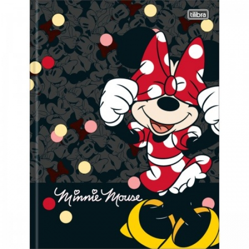 CADERNO BROCHURA CD 80FLS TILIBRA MINNIE