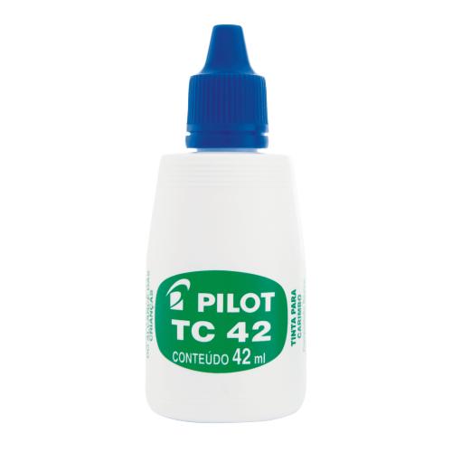 TINTA PARA CARIMBO PILOT 42ML AZUL