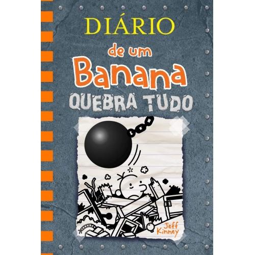 DIARIO DE UM BANANA 14 - QUEBRA TUDO
