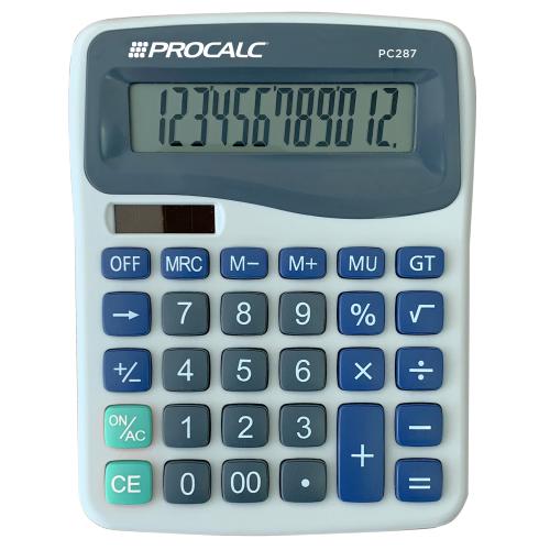 CALCULADORA DE MESA PROCALC PC287