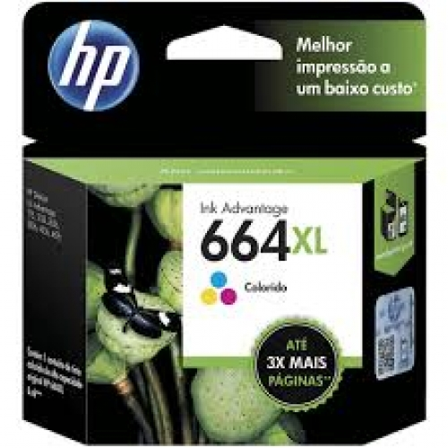 CARTUCHO HP 664XL COLORIDO
