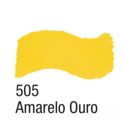 TINTA ACRILICA BRILHANTE ACRILEX 37ML AMARELO OURO