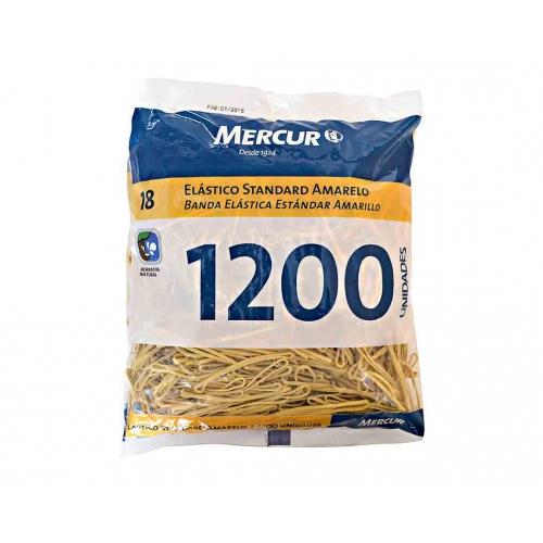 ELASTICO MERCUR STANDARD AMARELO 18 1200UNDS