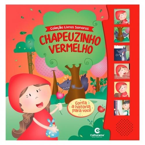 LIVRO SONORO - CHAPEUZINHO VERMELHO