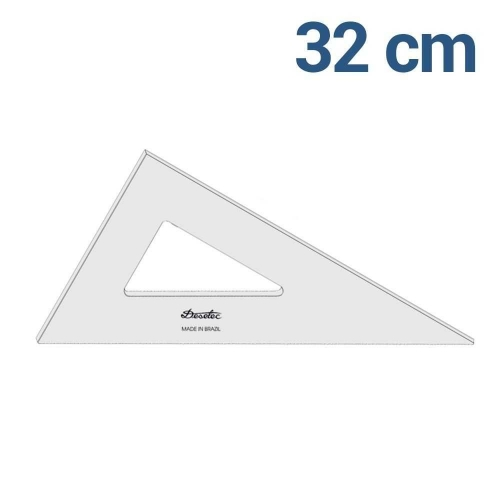 ESQUADRO TRIDENT 60* 32CM