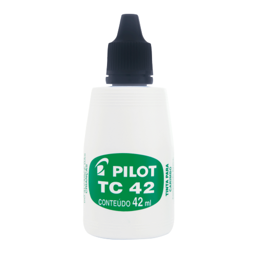TINTA PARA CARIMBO PILOT 42ML PRETO