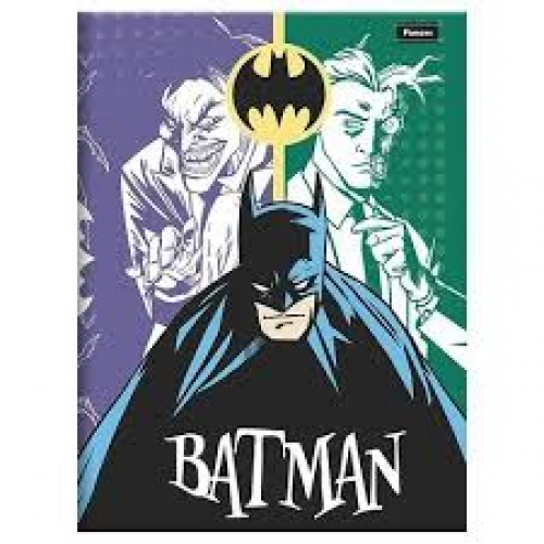 CADERNO BROCHURA 1/4 CD 96FLS FORONI BATMAN