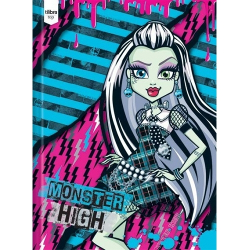 CADERNO BROCHURA CD 96FLS TILIBRA MONSTER HIGH