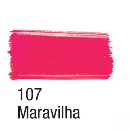 TINTA TECIDO ACRILEX 37ML NEON MARAVILHA
