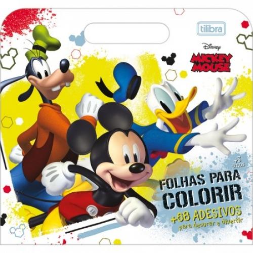 MALETA DE COLORIR TILIBRA MICKEY 8FLS