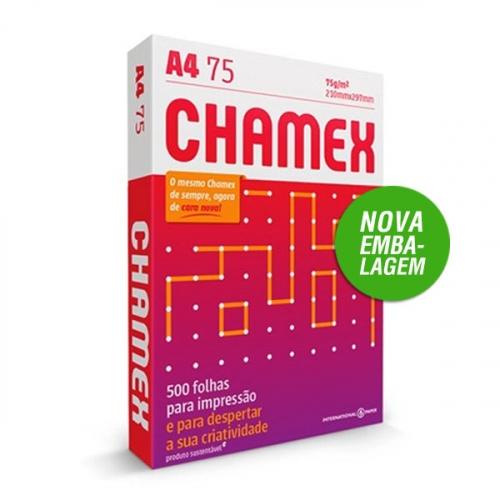 PAPEL A4 75G CHAMEX 500FLS