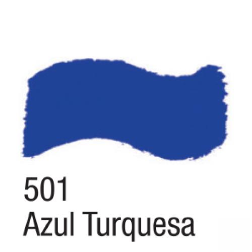 TINTA ACRILICA BRILHANTE ACRILEX 37ML AZUL TURQUESA