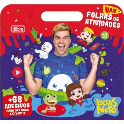MALETA DE ATIVIDADES TILIBRA LUCCAS NETO 8FLS