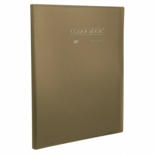 PASTA CATALOGO OFICIO 50ENV YES CLEAR BOOK FUME