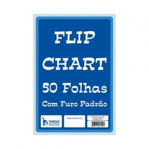BLOCO PARA FLIP CHART TAMOIO 50FLS