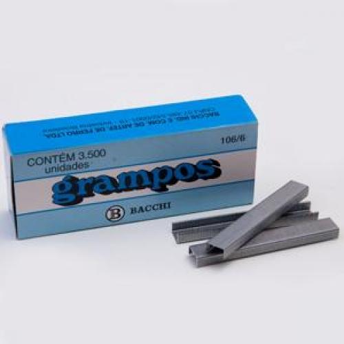 GRAMPO BACCHI 106/6 GALVANIZADO 3500UNDS