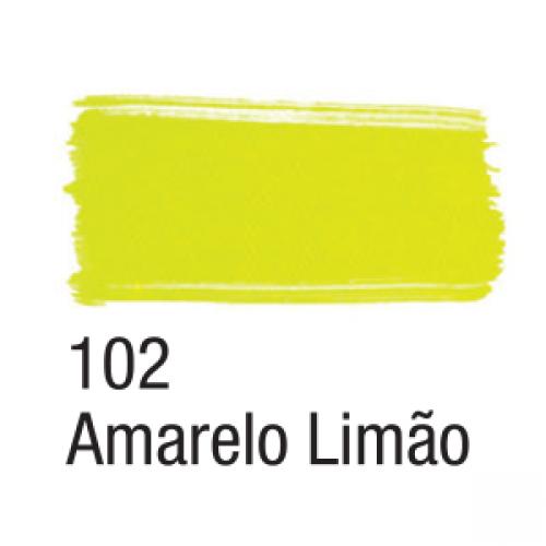 TINTA TECIDO ACRILEX 37ML NEON AMARELO LIMAO