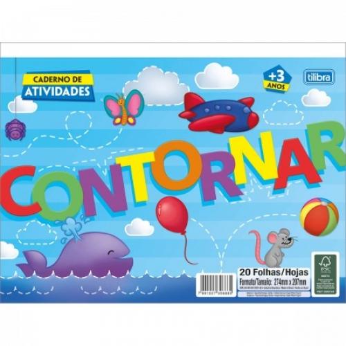 BLOCO EDUCATIVO TILIBRA CONTORNAR 20FLS