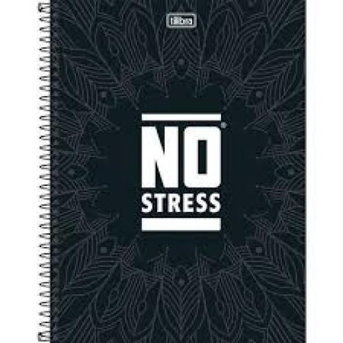 CADERNO UNIVERSITARIO 01M CD TILIBRA NO STRESS