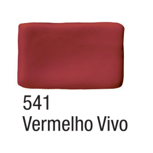 MASSA BISCUIT ACRILEX 90G VERMELHO VIVO