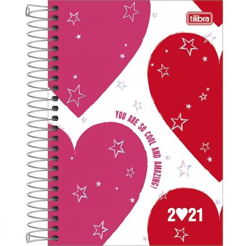 AGENDA TILIBRA LOVE PINK M6