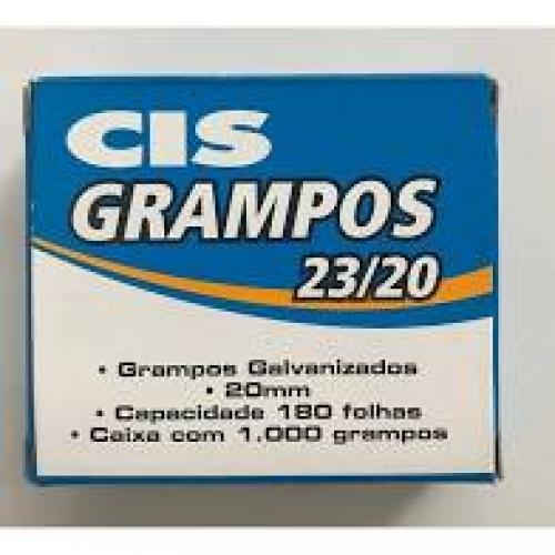 GRAMPO CIS 23/20 GALVANIZADO 1000UNDS