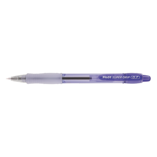 CANETA PILOT 0.7 SUPER GRIP COLOR VIOLETA