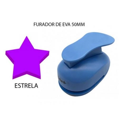 FURADOR DE EVA 50MM ESTRELA MAKE+