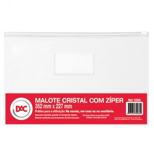 PASTA ZIP 35X23 DAC CRISTAL