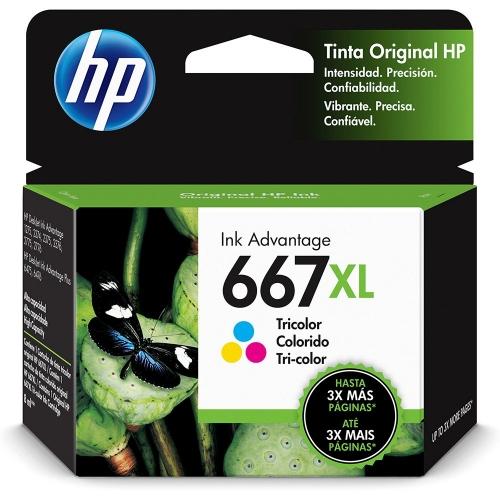 CARTUCHO HP667 XL COLORIDO