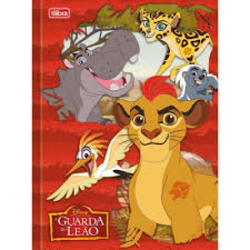 CADERNO BROCHURA 1/4 CD 96FLS TILIBRA GUARDA DO LEAO