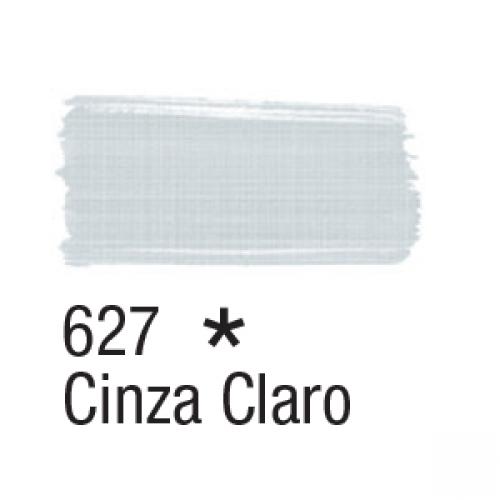 TINTA TECIDO ACRILEX 37ML CINZA CLARO