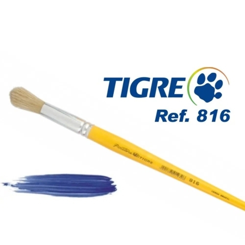 PINCEL REDONDO TIGRE 816 N 08