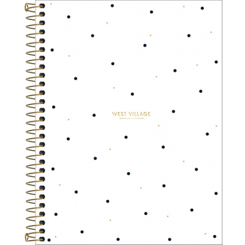 CADERNO COLEGIAL 01M CD TILIBRA WEST VILLAGE