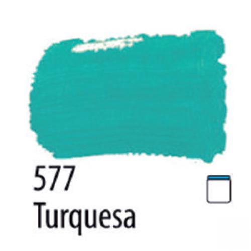 TINTA PVA FOSCA ARTESANATO ACRILEX 37ML TURQUESA
