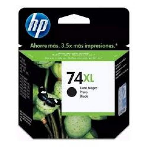 CARTUCHO HP 74XL PRETO