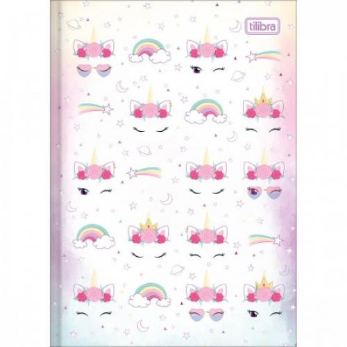 CADERNO BROCHURA 1/4 CD 80FLS TILIBRA BLINK