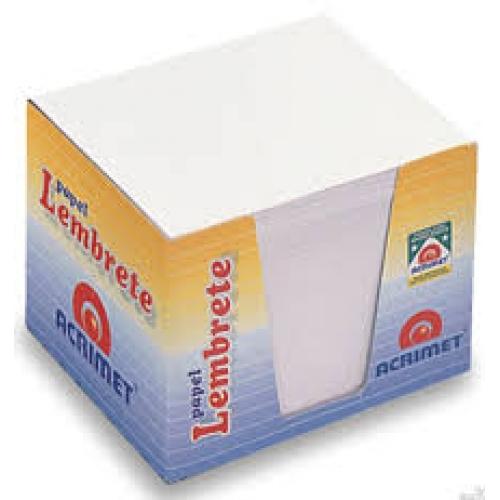 PAPEL LEMBRETE ACRIMET 750FLS BRANCAS