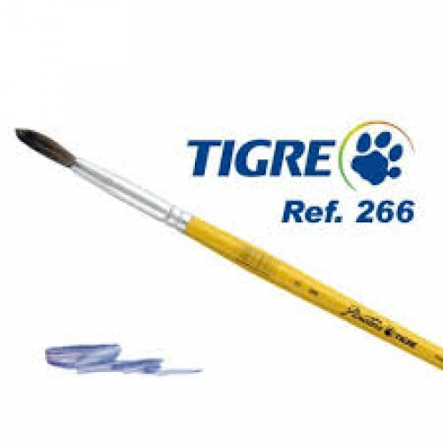 PINCEL REDONDO TIGRE 266 N 14