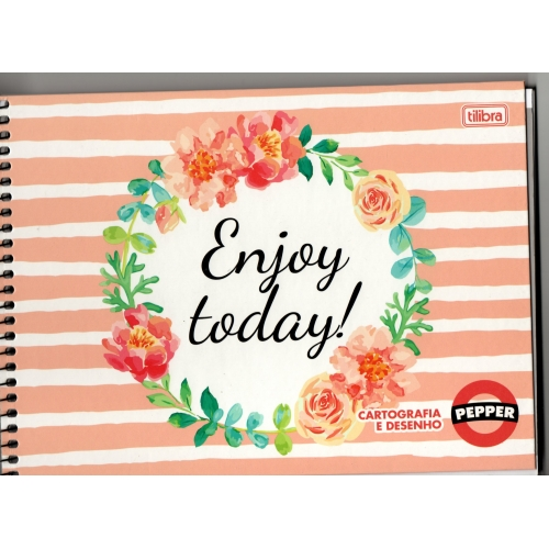 CADERNO CARTOGRAFIA CD 80FLS TILIBRA PEPPER