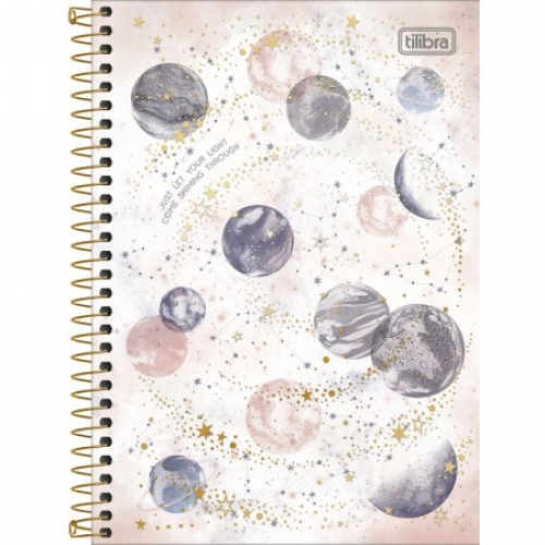 CADERNO ESPIRAL 1/4 CD 80FLS TILIBRA MAGIC