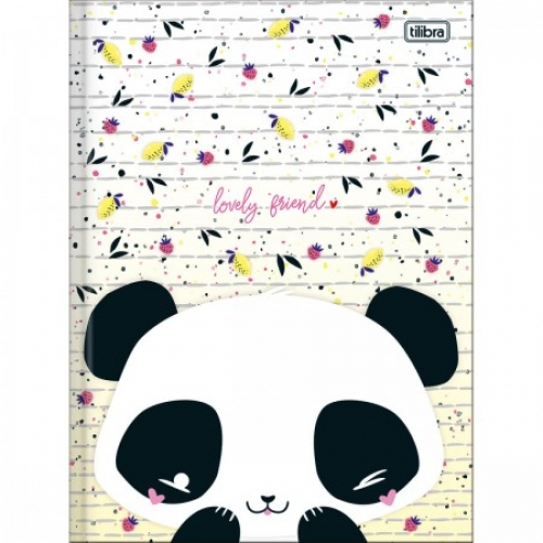 CADERNO BROCHURA CD 80FLS TILIBRA LOVELY FRIEND