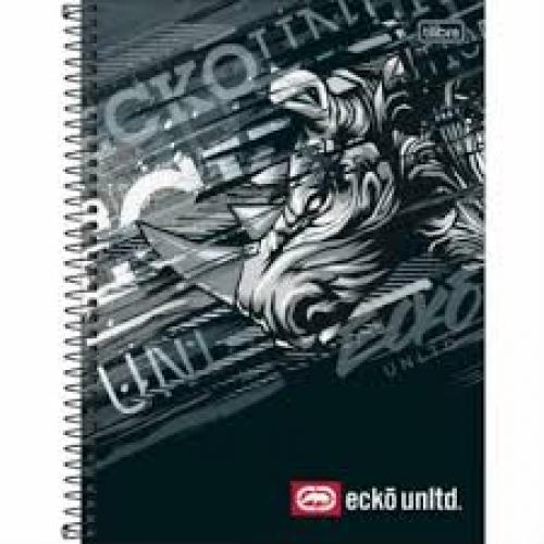 CADERNO UNIVERSITARIO 01M CD TILIBRA ECKO UNLTD