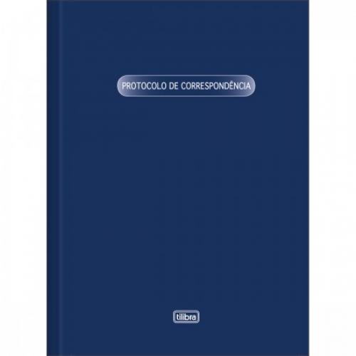 LIVRO PROTOCOLO DE CORRESPONDENCIA 52FLS TILIBRA
