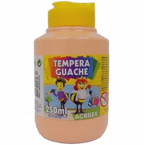 TINTA GUACHE ACRILEX 250ML AMARELO PELE 538