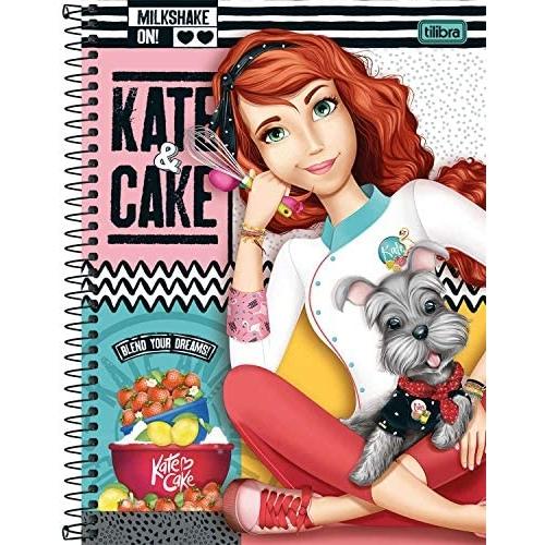 CADERNO UNIVERSITARIO 01M CD TILIBRA KATE E CAKE